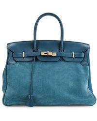 Hermès Vintage Leather Swift Birkin - Blue