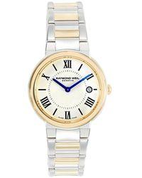 Raymond Weil Women's Two-tone Stainless Steel Bracelet Watch - Metallic
