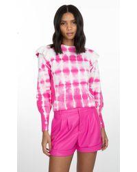 Generation Love Colette Tie Dye Sweater - Pink