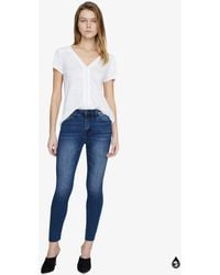 Sanctuary Clothing Social Standard Ankle Skinny Jean - Blue