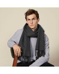 Sandro Echarpe en laine et cachemire - Multicolore