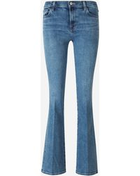 J Brand Jeans Mid-Rise Bootcut - Azul