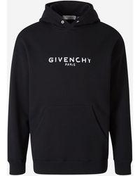 Givenchy Sudadera Logo Capucha - Negro