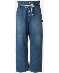 Ambush Jeans Denim Oversize - Azul