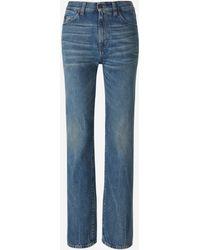 Saint Laurent Jeans Algodón - Azul
