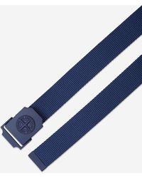 Stone Island Cinturón de Webbing - Azul