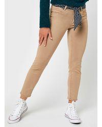 Marc O'polo Pantalon 5 Poches, Slim - Neutre