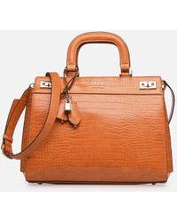 Guess Katey Large Luxury Satchel - Oranje