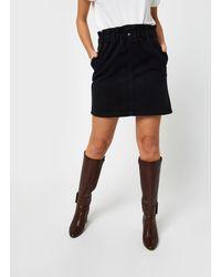 Noisy May Denim Skirts JUDO - Noir