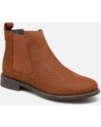 Vero Moda VmNilla Leather boot - Marron