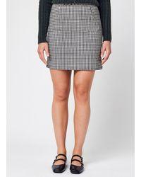 Pieces Pcesanna Hw Short Skirt - Gris