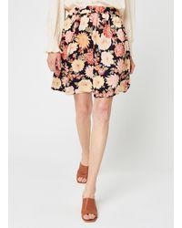 Pieces Pcnya Mw Skirt Bf Bc - Noir