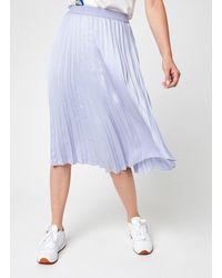 Vila Vipasel Hw Midi Skirt - Paars