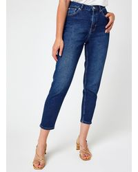 NA-KD Comfort Mom Jeans - Azul