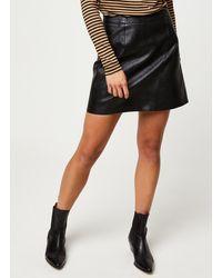 Pieces Jabba Hw Skirt - Noir