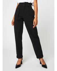 Object Objmilene Hw Pants 116 - Noir