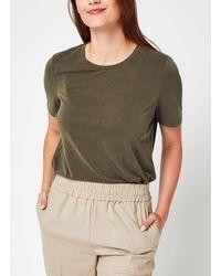 Object Objannie S/S T-Shirt Noos - Vert