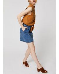 Noisy May Denim Skirts JUDO - Bleu