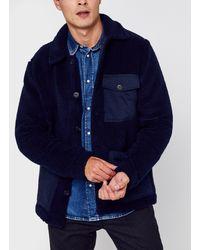 Hartford Veste Utility Jacket - Azul