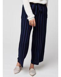 Moss Copenhagen Pantalon Panille - Bleu