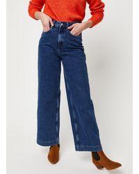 SELECTED Slfsusan Jeans - Bleu
