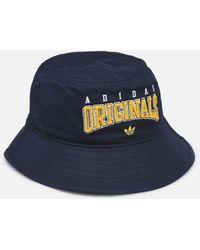 adidas Originals Bucket Hat - Bleu