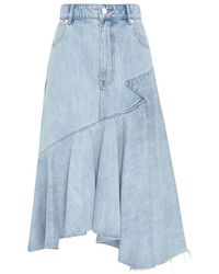 Sass & Bide All The Young Skirt - Blue