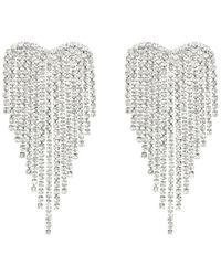 Sass & Bide Big Love Earring - Metallic