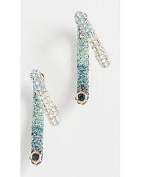 Sass & Bide Pave Luna Earring - Multicolour