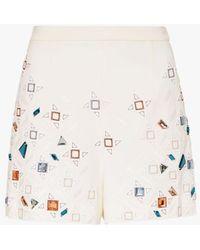 Sass & Bide - Tessellation Shorts - Lyst