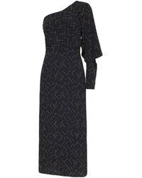 Sass & Bide Space Oddity One Shoulder Dress - Black