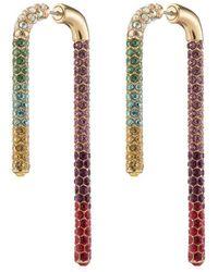 Sass & Bide Pave Crystal Celeste Earring - Metallic