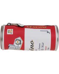 Moschino Budweiser Clutch Bag - Red