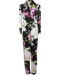Off-White c/o Virgil Abloh - Floral Coulisse Jumpsuit All Over No Col - Lyst