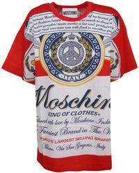 Moschino Budweiser T-shirt - Multicolor