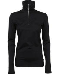 Jil Sander T-shirt Tn Ls - Black