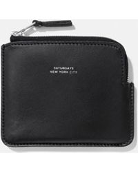 Saturdays NYC - Cash Half Zip Wallet - Lyst