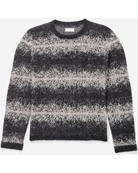 Saturdays NYC - Wade Ombre Stripe Sweater - Lyst