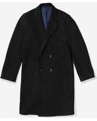 Saturdays NYC - Saul Double Breasted Top Coat - Lyst