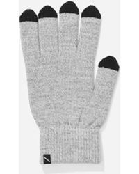 Saturdays NYC - Grey Dylan Gloves - Lyst