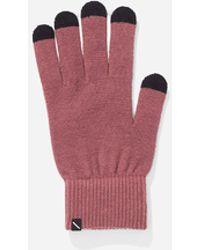 Saturdays NYC Dylan Glove - Red