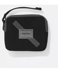 Saturdays NYC Porter Reflective Wallet - Black