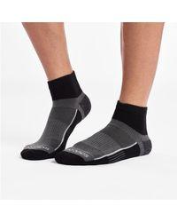 Saucony Inferno Quarter 3-pack Socks - Black