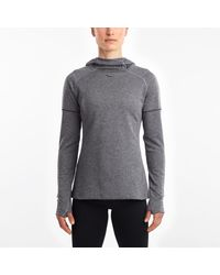 Saucony Runstrong Thermal Hoodie - Gray