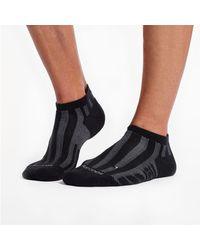 Saucony Ventilator No Show Tab 1 Pack Sock - Black