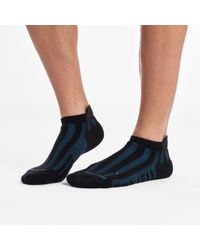 Saucony Ventilator No Show Tab 1 Pack Sock - Blue