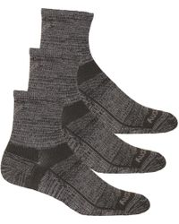 Saucony Inferno Merino Wool Blend Low Cut 3-Pack Sock Unisex