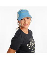Saucony Outpace Hat - Blue