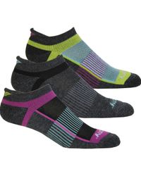 Saucony - Inferno No Show Tab 3-pack Socks - Lyst