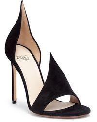 Francesco Russo - Open-toe Suede Sandals - Lyst